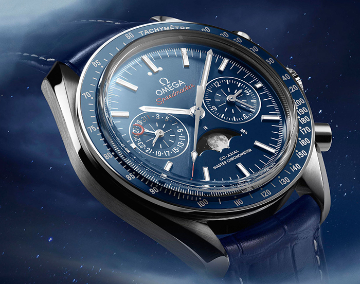 Часы Omega Speedmaster Master Chronometer Chronograph Moonphase