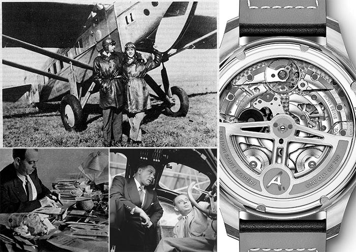 Антуан де Сент-Экзюпери и пилот Анри Гийоме на аэродроме Тулуза- Монтодран