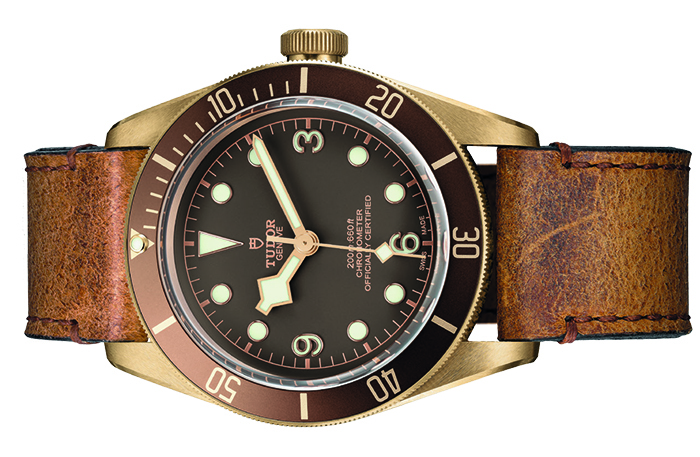 Часы Heritage Black Bay Bronze Tudor