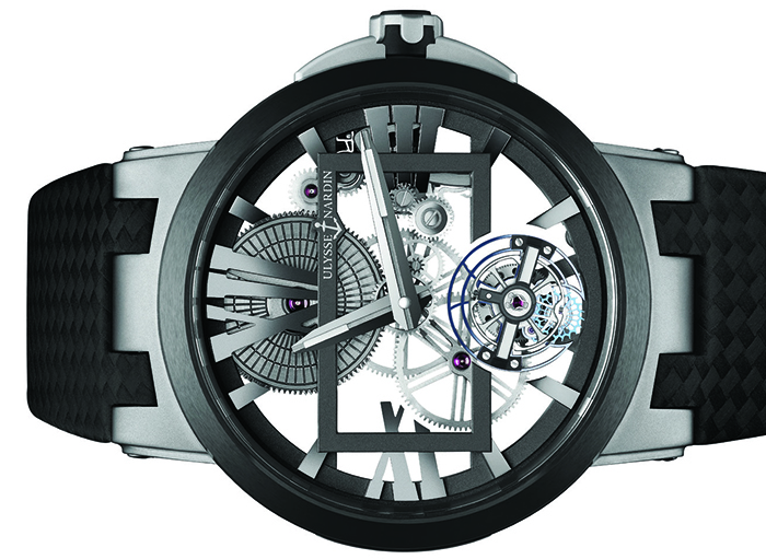 Часы Ulysse Nardin Executive Skeleton Tourbillon
