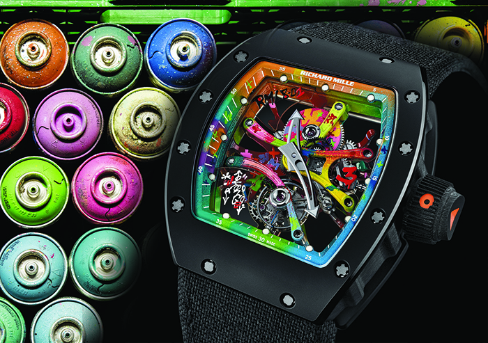 Часы Richard Mille RM 68-01 Tourbillon Cyril Kongo