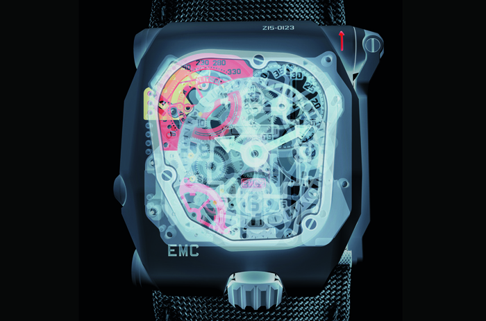 Urwerk TimeHunter «X-Ray» с калибром UR-EMC2