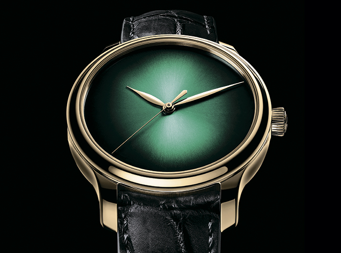 Часы H. Moser & Cie. Endeavour Centre Seconds Concept Cosmic Green
