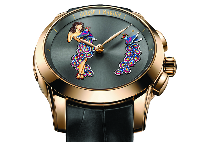 Часы Ulysse Nardin Hourstriker Pin-Up