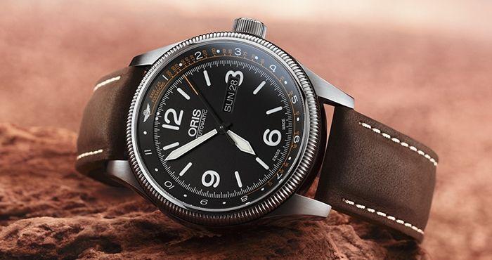 a6e80065 Часы для медицинских работников, вылетающих на вызовы на самолетах,  базируются на дизайне моделей из коллекции Oris Big Crown.