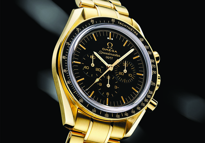 Часы Omega Speedmaster Professional Moonwatch Co-Axial Limited Series 50th Anniversary