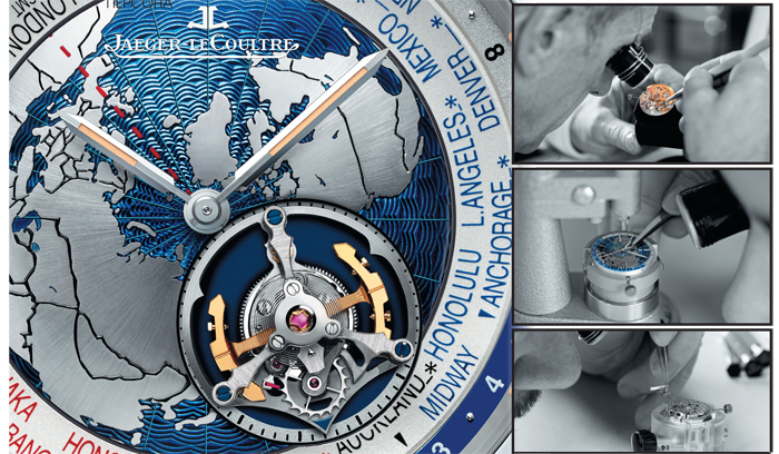 Циферблат Geophysic Tourbillon Universal Time
