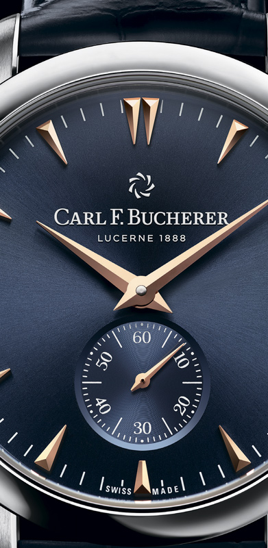 Часы Carl F. Bucherer Manero Peripheral Boutique Edition
