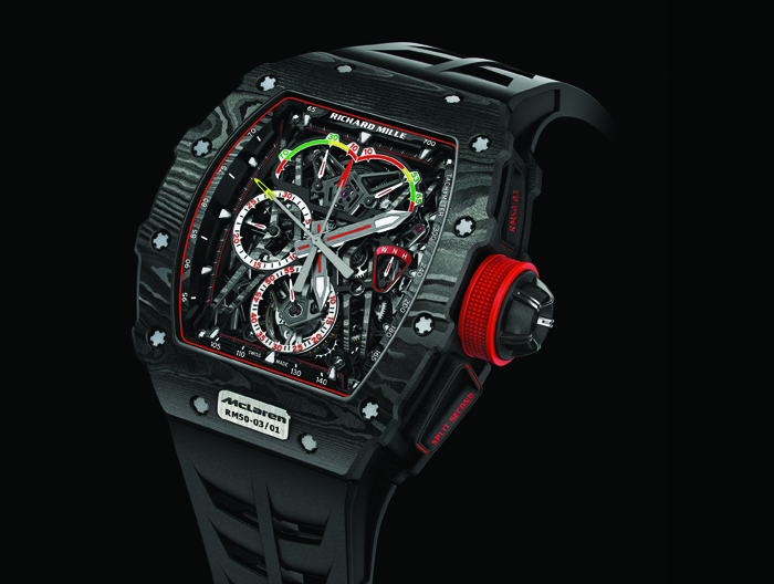 Часы Richard Mille RM 50-03 Tourbillon Split Seconds Chronograph Ultralight McLaren F1