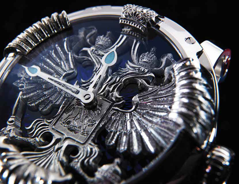 Louis Moinet Mecanograph Freedom of Russia