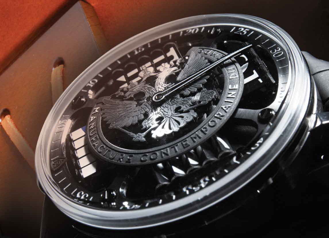 Часы MCT Sequential Two S210 Eagle Silver Rich Time edition