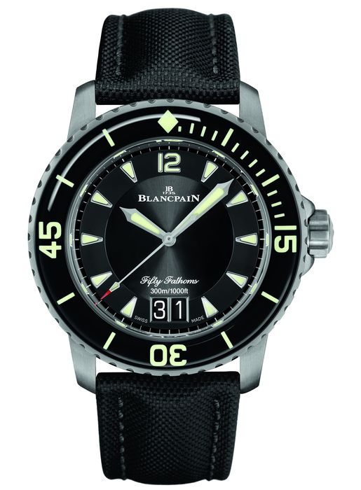 Часы Blancpain Fifty Fathoms Grande Date