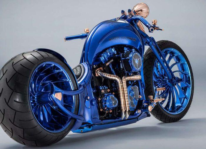 Самый дорогой мотоцикл в мире от Harley-Davidson и Carl F. Bucherer