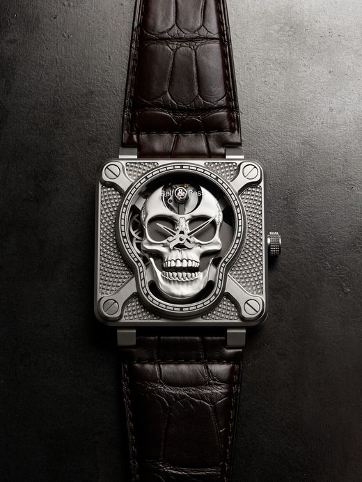 Часы Bell & Ross BR 01 Laughing Skull