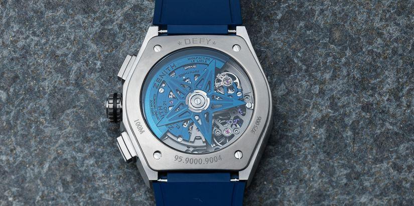0cf828cae21b Часы Zenith El Primero 21 Blue