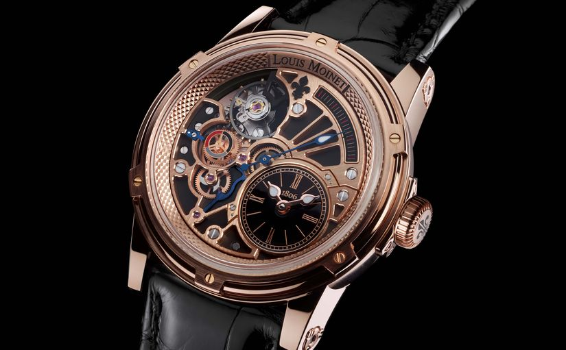 Часы Louis Moinet Tempograph Chrome