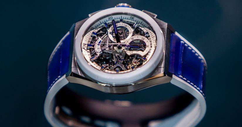 845c982c6966 Zenith открыл бутик в Порто-Черво и выпустил для него часы