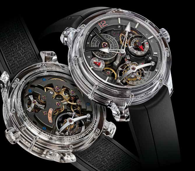 Часы Greubel Forsey Double Tourbillon 30° Technique Sapphire Limited edition