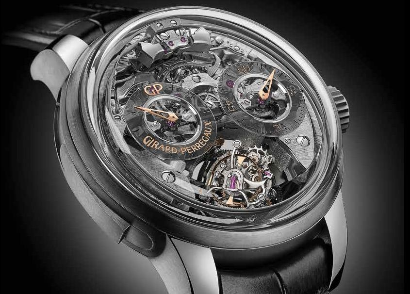 Часы Girard-Perregaux Minute Repeater Tri-Axial Tourbillon