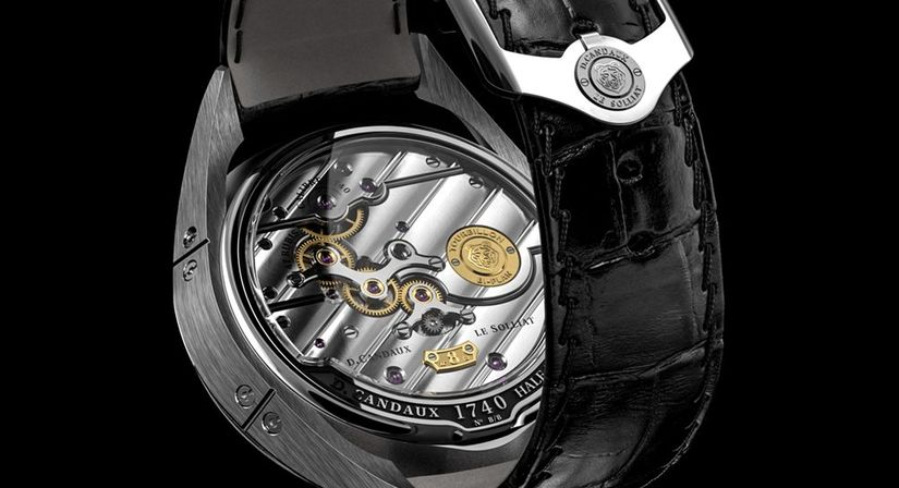 Часы David Cadaux 1740 Half Hunter Tourbillon