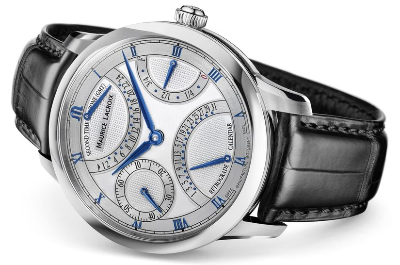Часы Maurice Lacroix Masterpiece Moon Retrograde