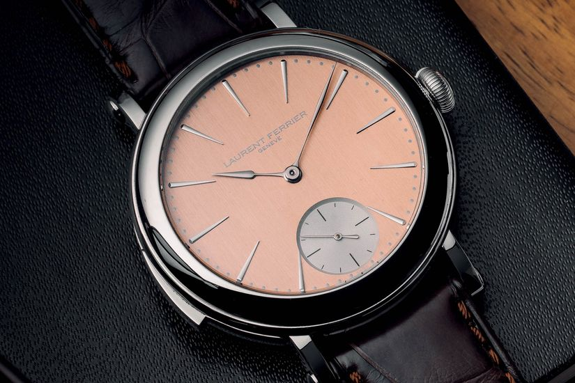 Часы Laurent Ferrier Galet Minute Repeater School Piece