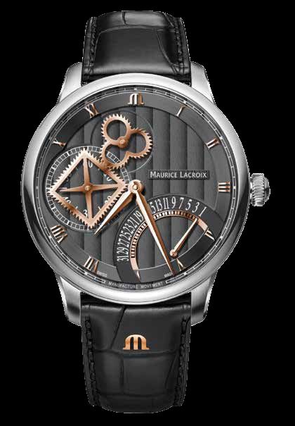 Часы Maurice Lacroix Masterpiece Roue Carree