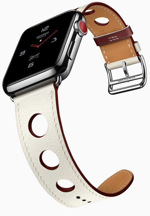 Apple Watch на ремешке Hermes