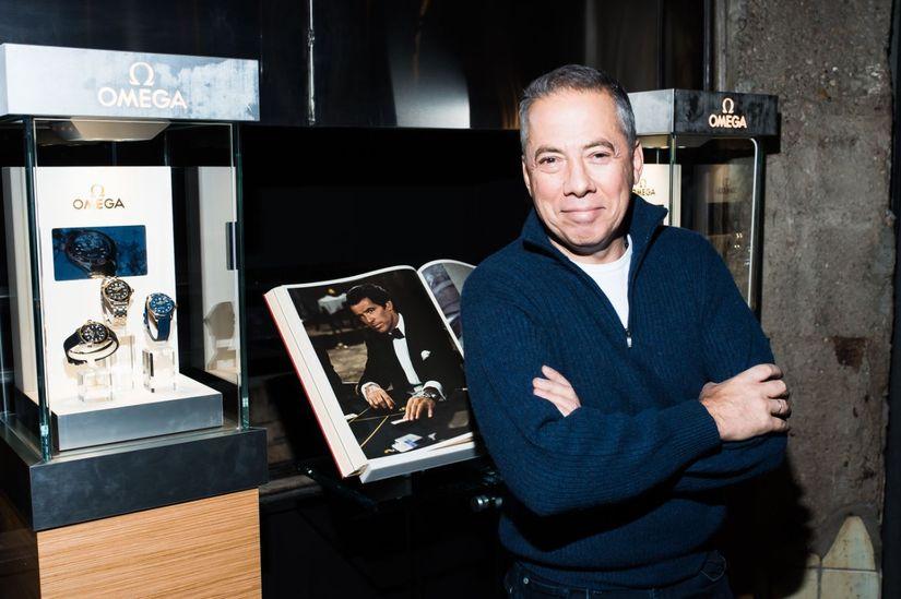 Аркадий Новиков и часы Omega