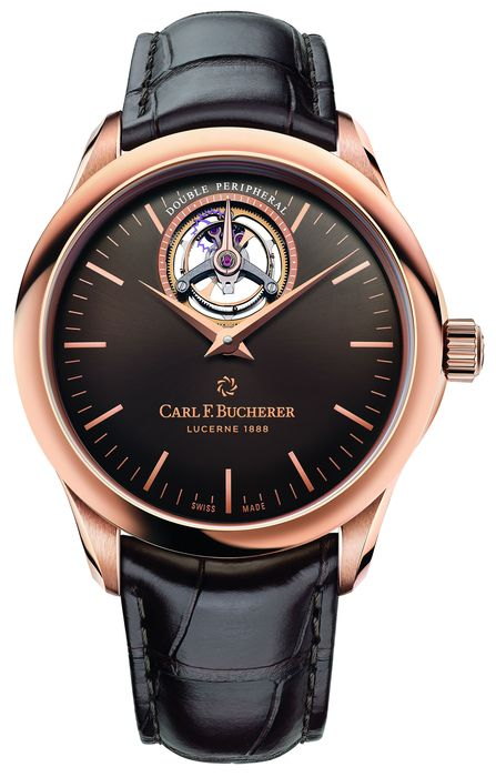 часы Carl F. Bucherer Manero Tourbillon Double Peripheral Special Edition