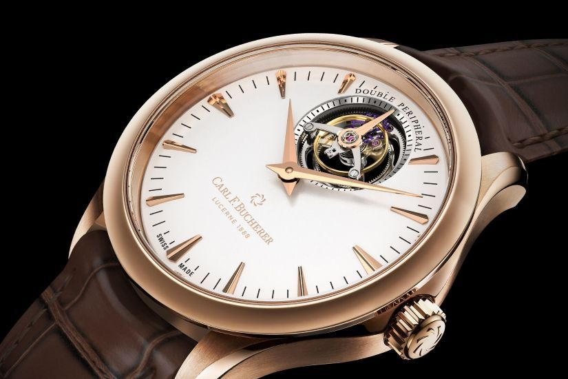 Часы Carl F Bucherer Manero Tourbillon Double Peripheral