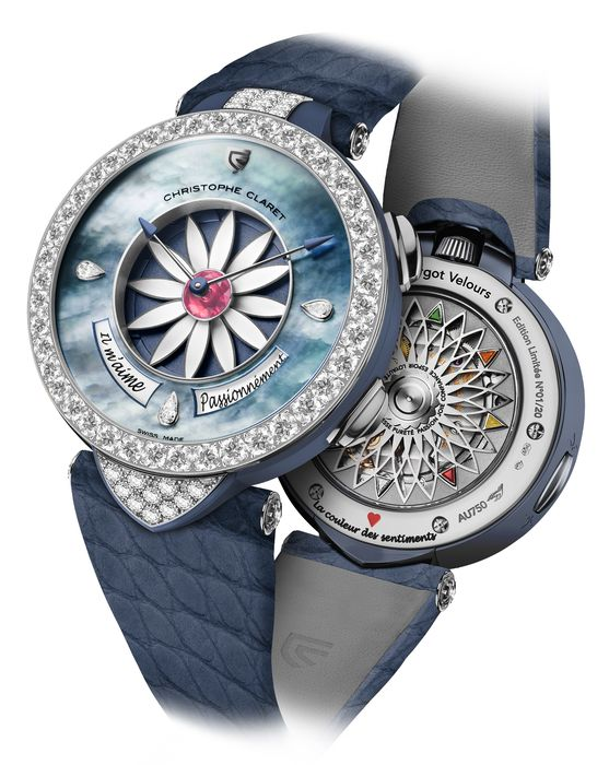 Часы Christophe Claret Margot Velours