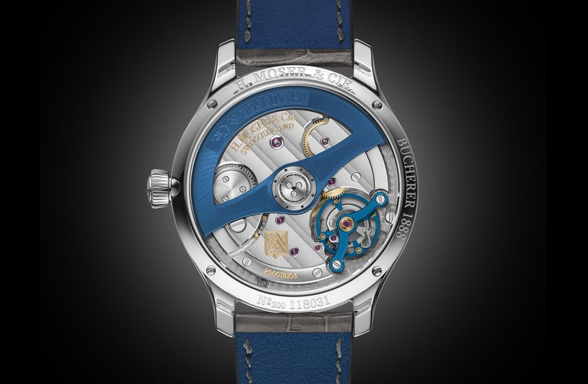 Часы H. Moser & Cie. Endeavour Diamonds Bucherer Blue Edition