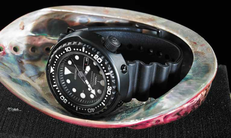 Часы Seiko Prospex Darth Tuna