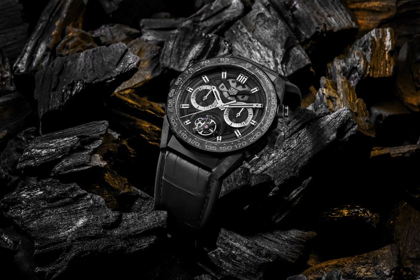 Часы TAG Heuer Carrera Carbon Tourbillon Phantom