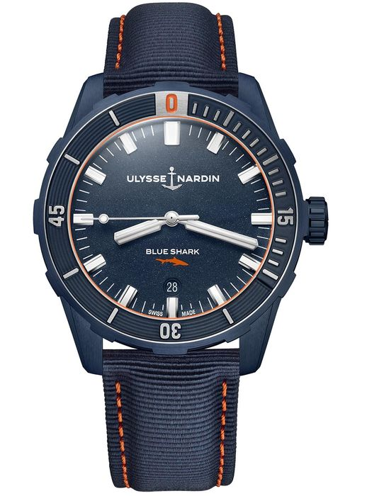 Часы Ulysse Nardin Diver Blue Shark Limited Edition