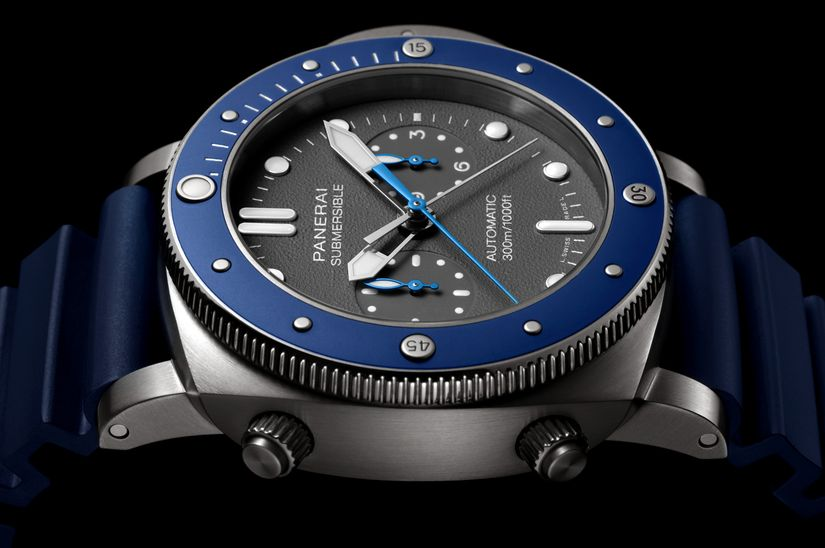 Часы Panerai Submersible Chrono Guillaume Nery Editions