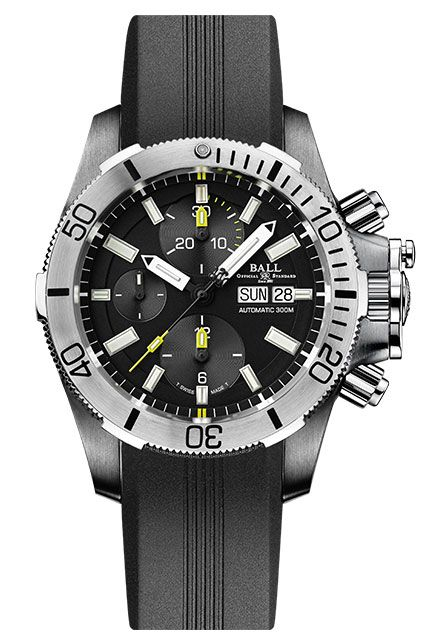 Часы Ball Engineer HydroCarbon Submarine Warfare Chronograph