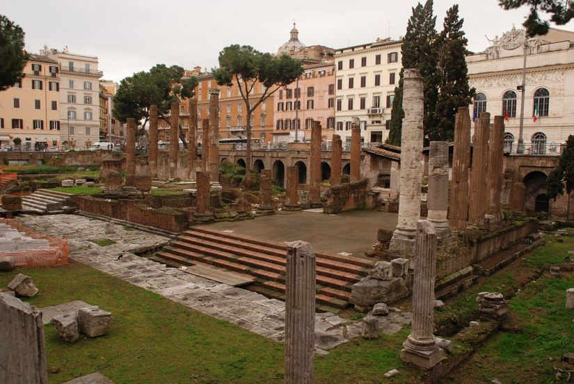 1 000 000 euros for the reconstruction of Largo Argentina in Rome