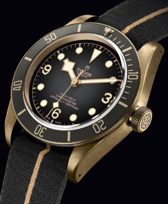 Часы Tudor Black Bay Bronze