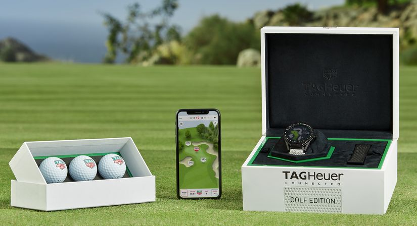 Часы TAG Heuer Connected Modular 45 Golf Edition