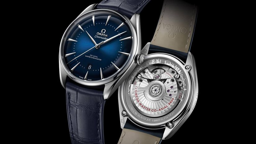 Модель Omega Seamaster Exclusive Boutique London Limited Edition