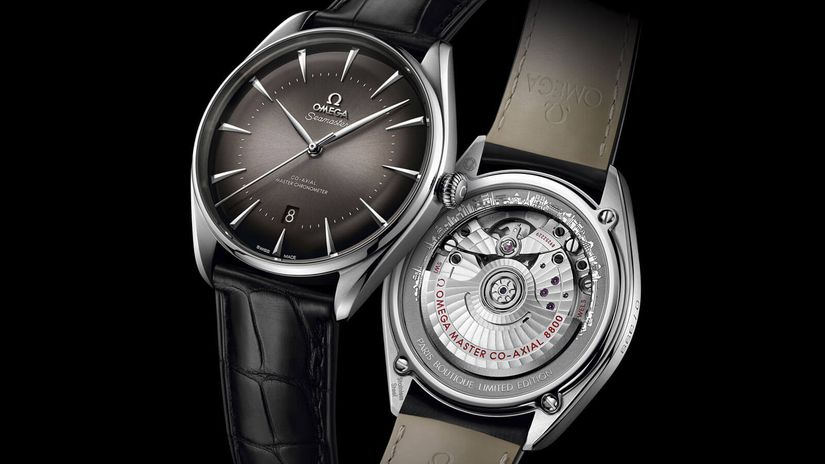 Часы Omega Seamaster Exclusive Boutique Paris Limited Edition