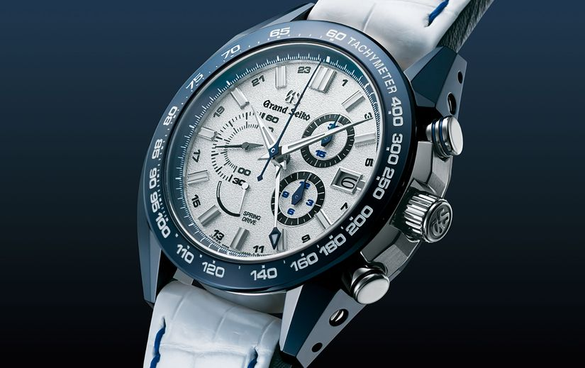 Часы Grand Seiko Spring Drive 20th & NISSAN GT-R 50th Anniversary Limited Edition