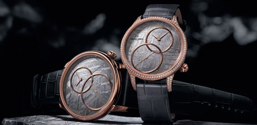 Часы Jaquet Droz Grande Seconde Off-Centered Meteorite Dial
