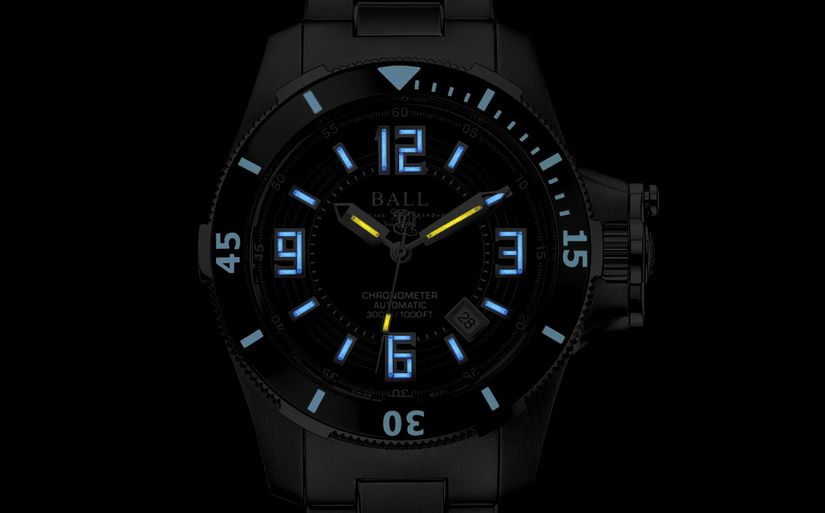Часы Ball Engineer Hydrocarbon Ceramic XV