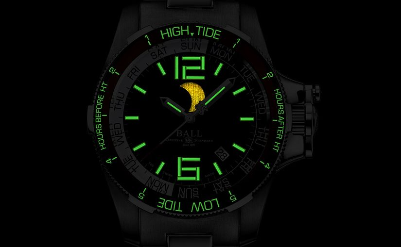 Часы Ball Engineer Hydrocarbon Moon Navigator