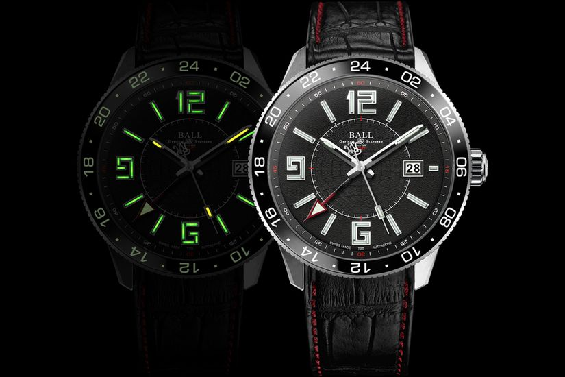 Часы Ball Engineer Master II Pilot GMT