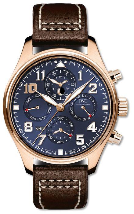"Часы IWC Pilot's Watch Perpetual Calendar Chronograph Edition ""Le Petit Prince"""