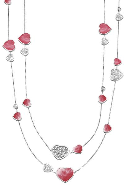 Колье Chopard Happy Hearts Naked Hearts